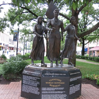 Tennessee Women's Suffrage Memorial by  Alan LeQuire