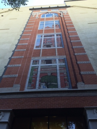 Miller's Building Mural by Byron Peck