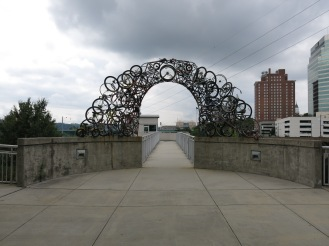 Bicycle Arch by Kelly Brown